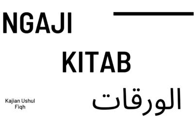 Ngaji Kitab Al Waraqaat